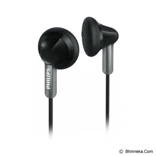 PHILIPS Ear Phone [SHE 3010 BK] - Black - Earphone Ear Bud